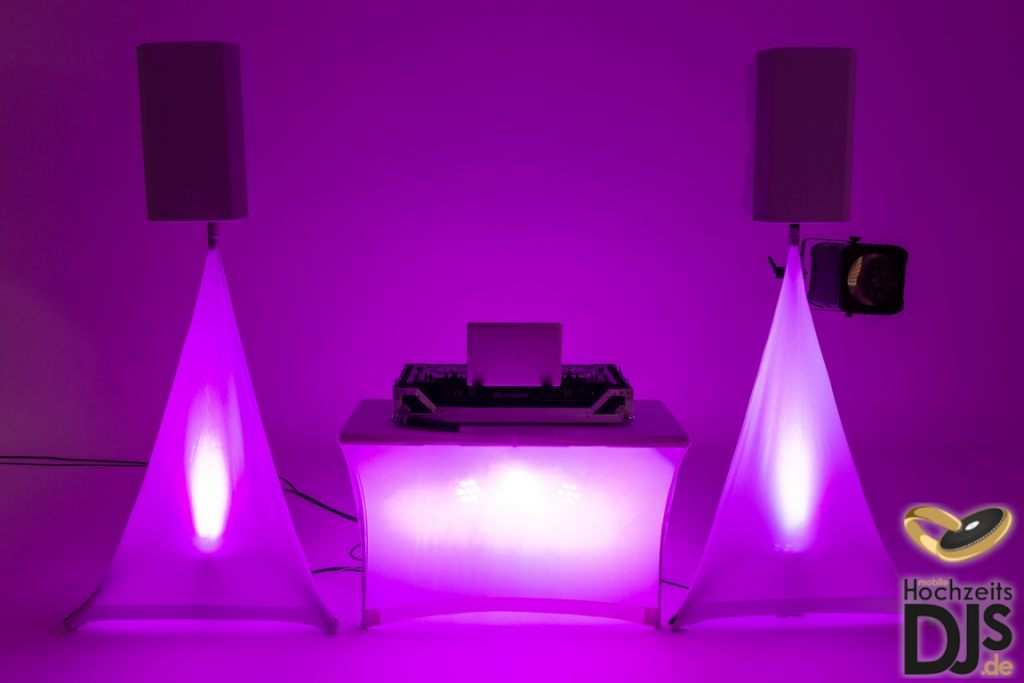 DJ-Paket Basic mit White-Wedding-Paket