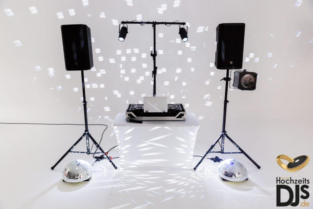 DJ-Paket Basic mit Spiegelkugeln