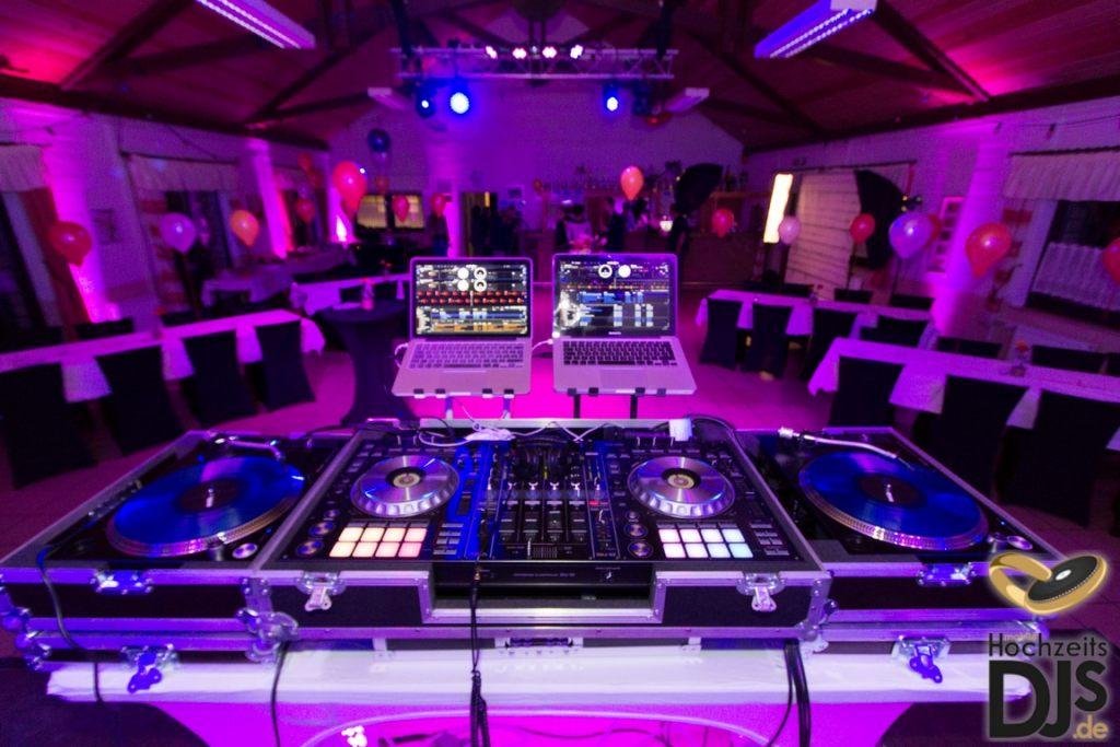 Aufbau DJ