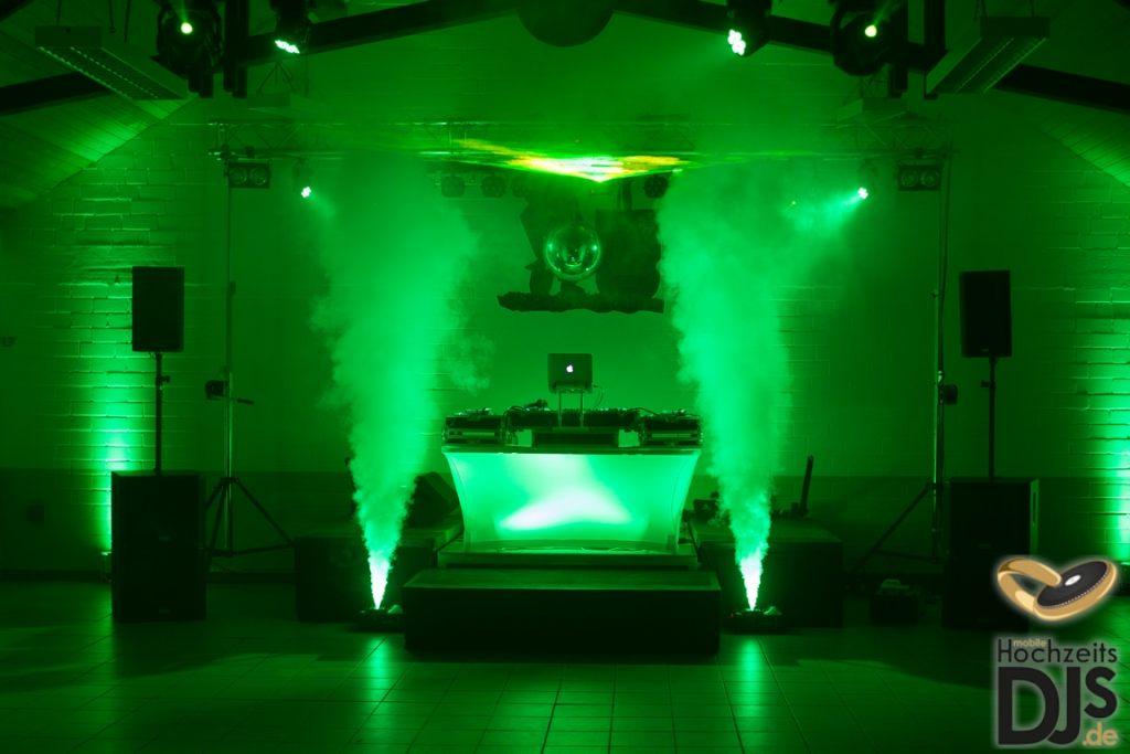DJ-Tisch mit Beleuchtung