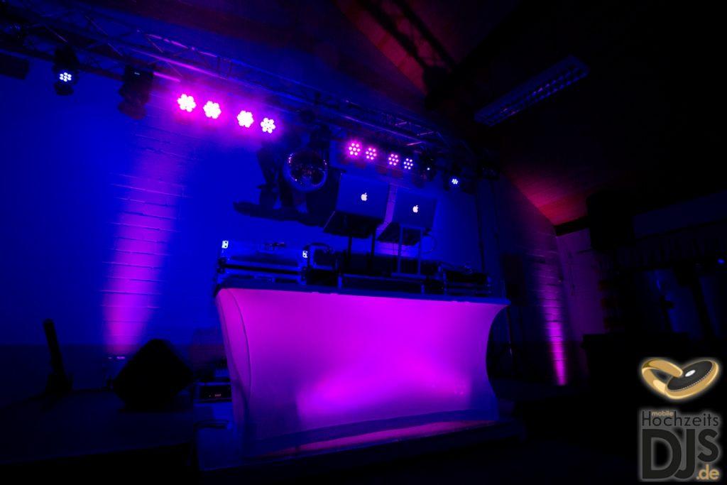 DJ-Tisch mit DJ Paket Superior