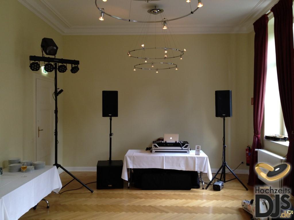 DJ Paket Elegance mit Lichteffekt und LED Bar