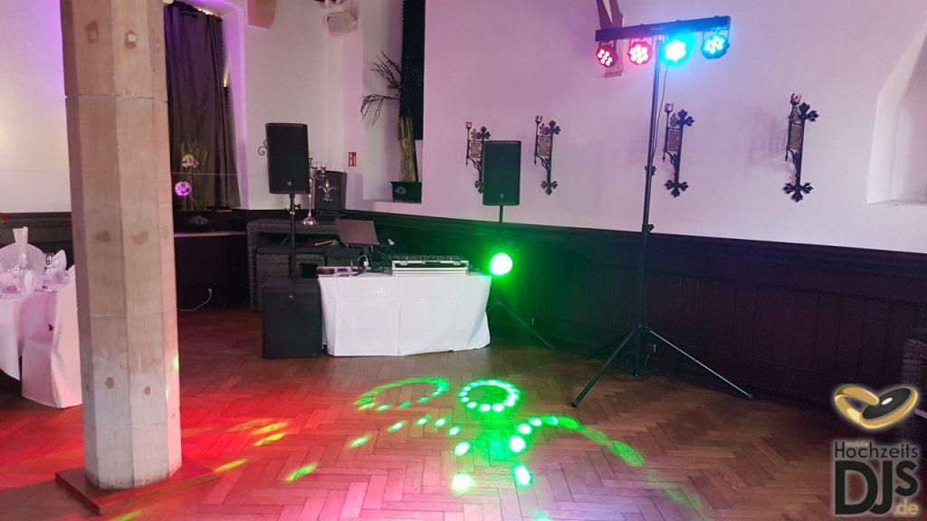 DJ Paket Elegance mit LED Bar und Lichteffekt