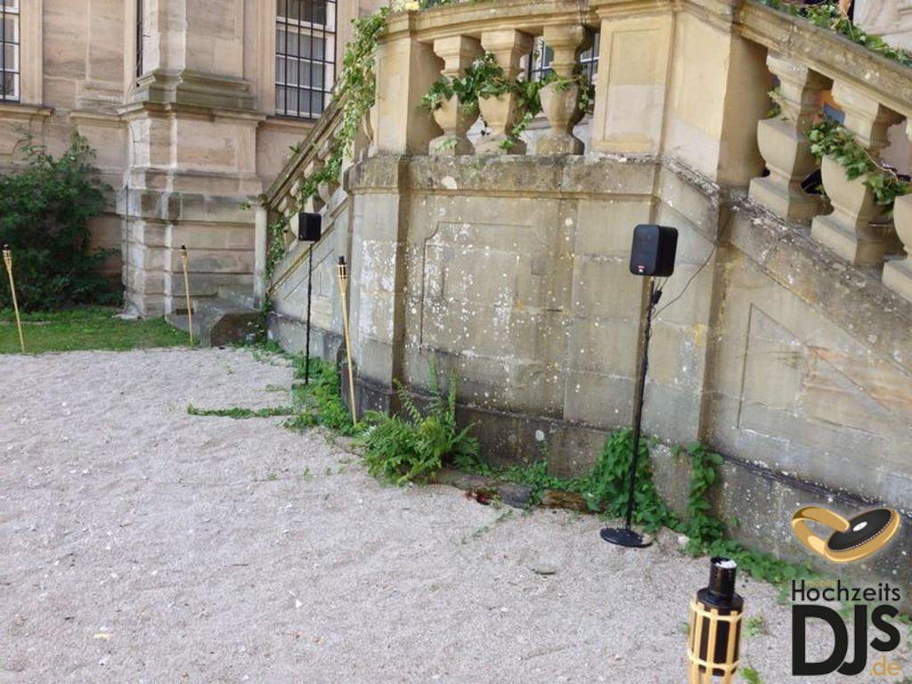 Funklautsprecher im Freien