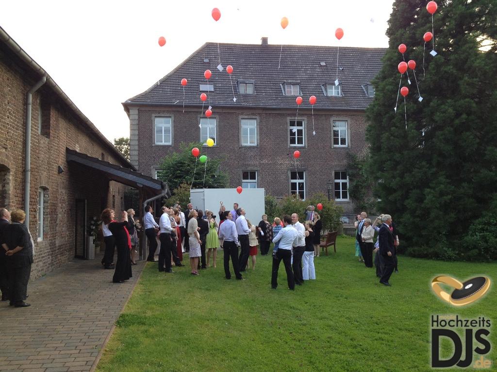 Herzen Ballons Hochzeitsgesellschaft