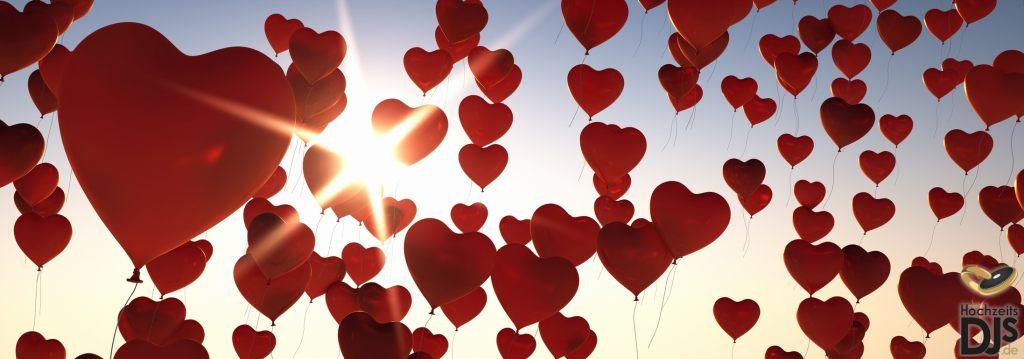 Herzen Ballons