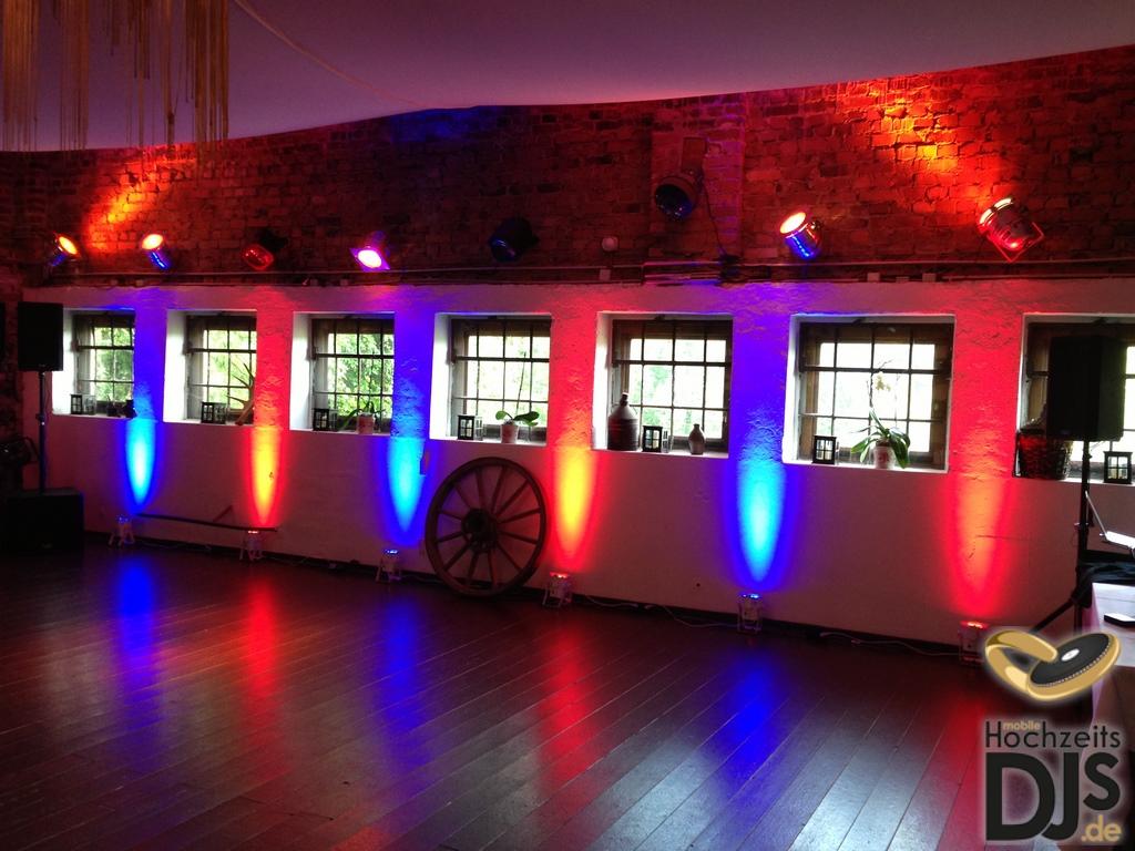 LED Floorspots Hochzeit