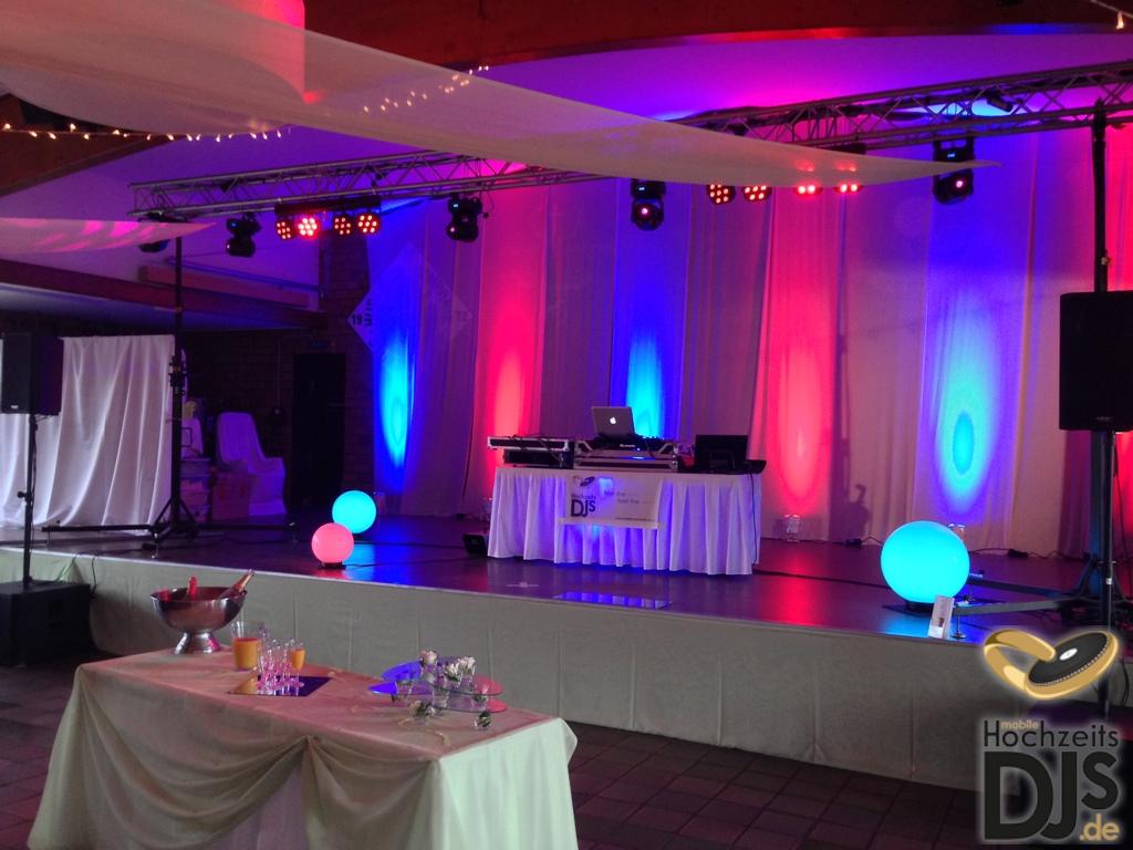 Dekorationsbeleuchtung mit LED Floorspots