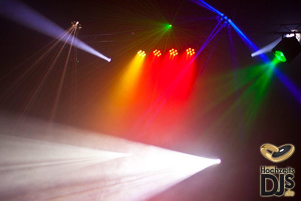 LED Lichtbahr mit Nebel