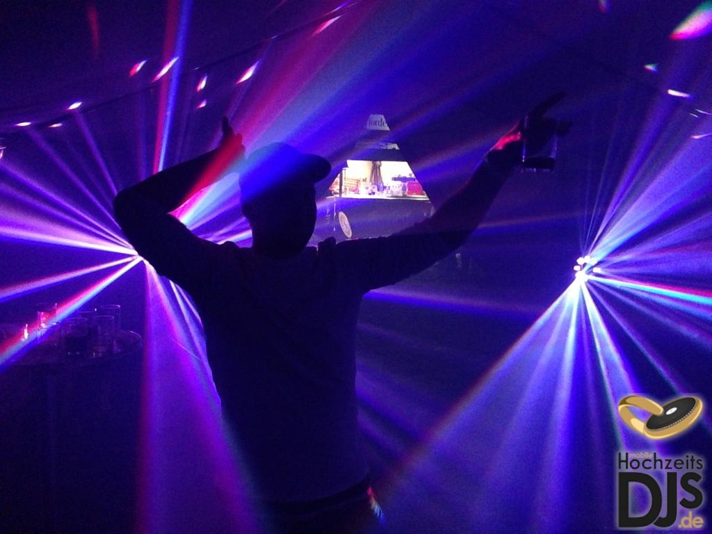 LED Lichteffekt Hochzeit