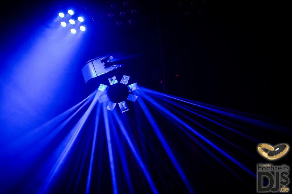LED Lichteffekt Hochzeitsfeier