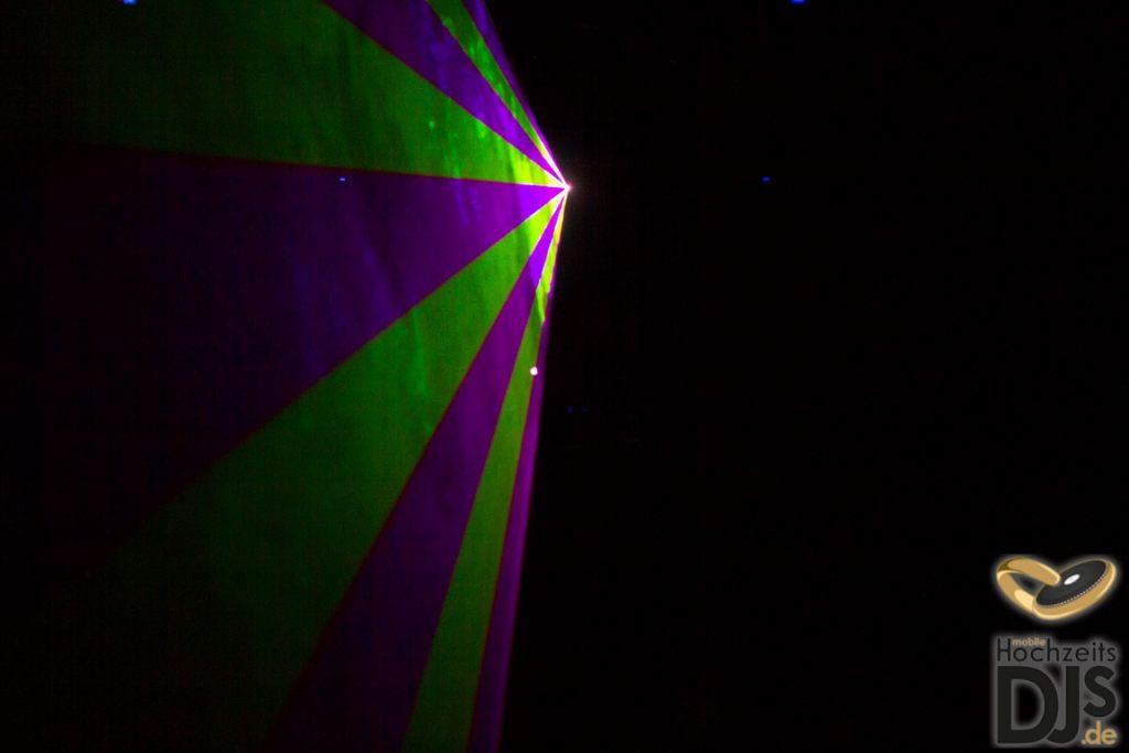 individuelle Lasershow
