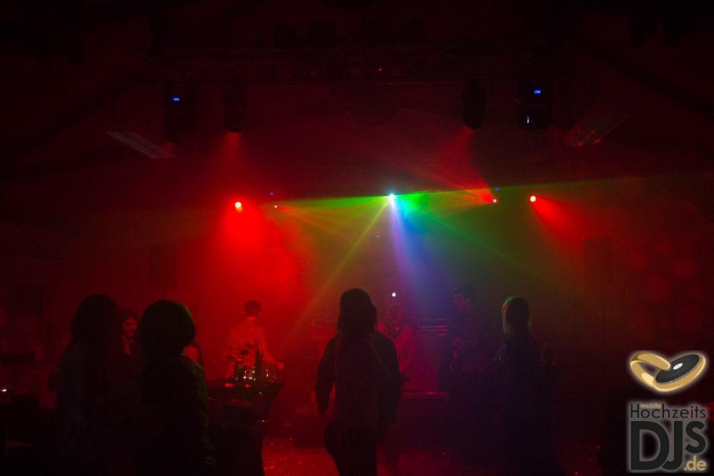 Lasershow mit Lichteffekten