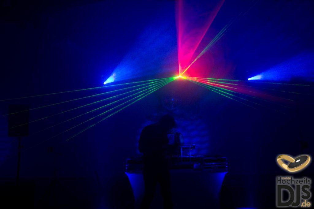professionelle Lasershow