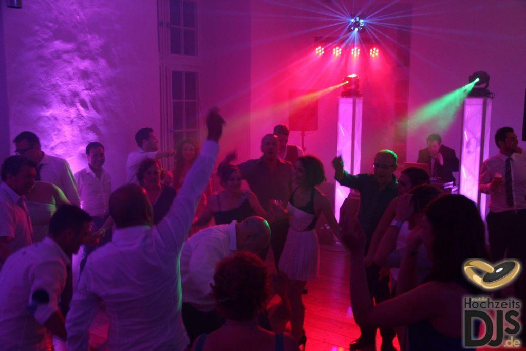 Movinghead auf Hochzeit
