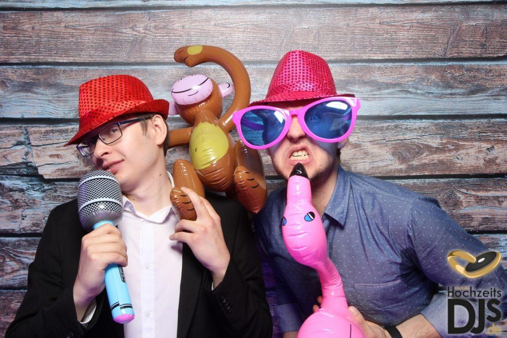 Photobooth auf einer Party