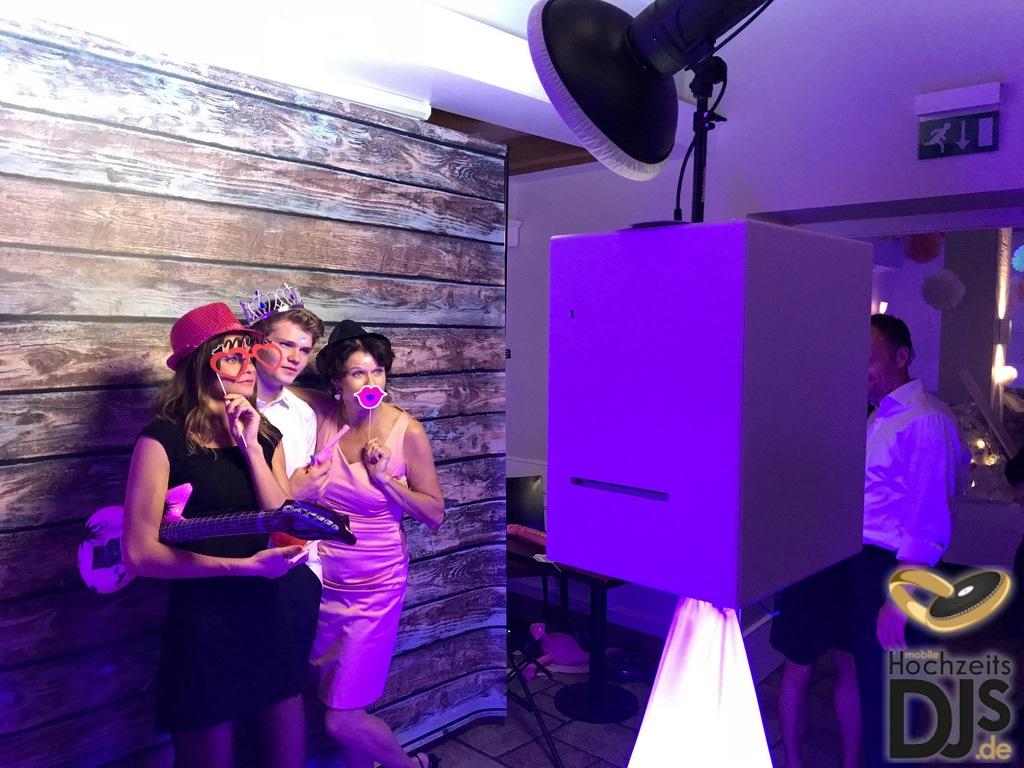 Photobooth Bedienung