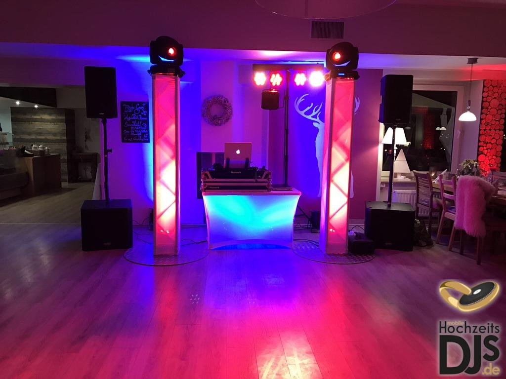 DJ Paket Superior mit DJ Tisch Beleuchtung