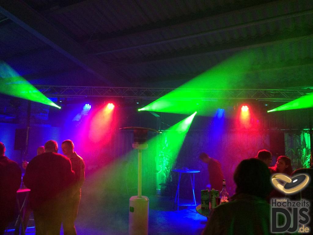 DJ Paket Superior B mit Lichteffekten und Nebel