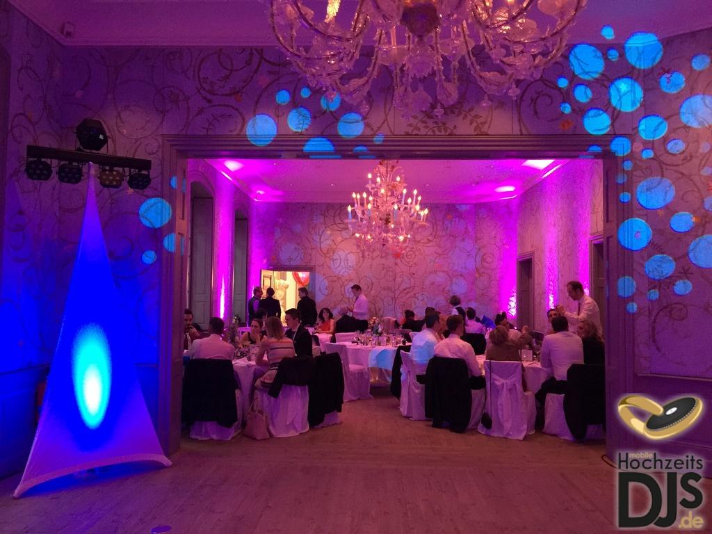 White-Wedding-Paket mit Beleuchtung