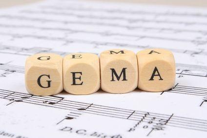 Das Thema mit der GEMA