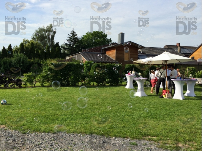 Seifenblasenmaschine auf dem Brungshof
