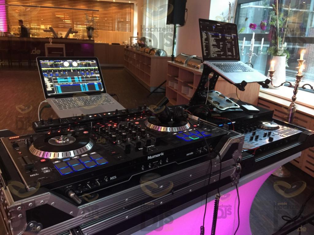 DJ Set im Heiner's Parkhotel