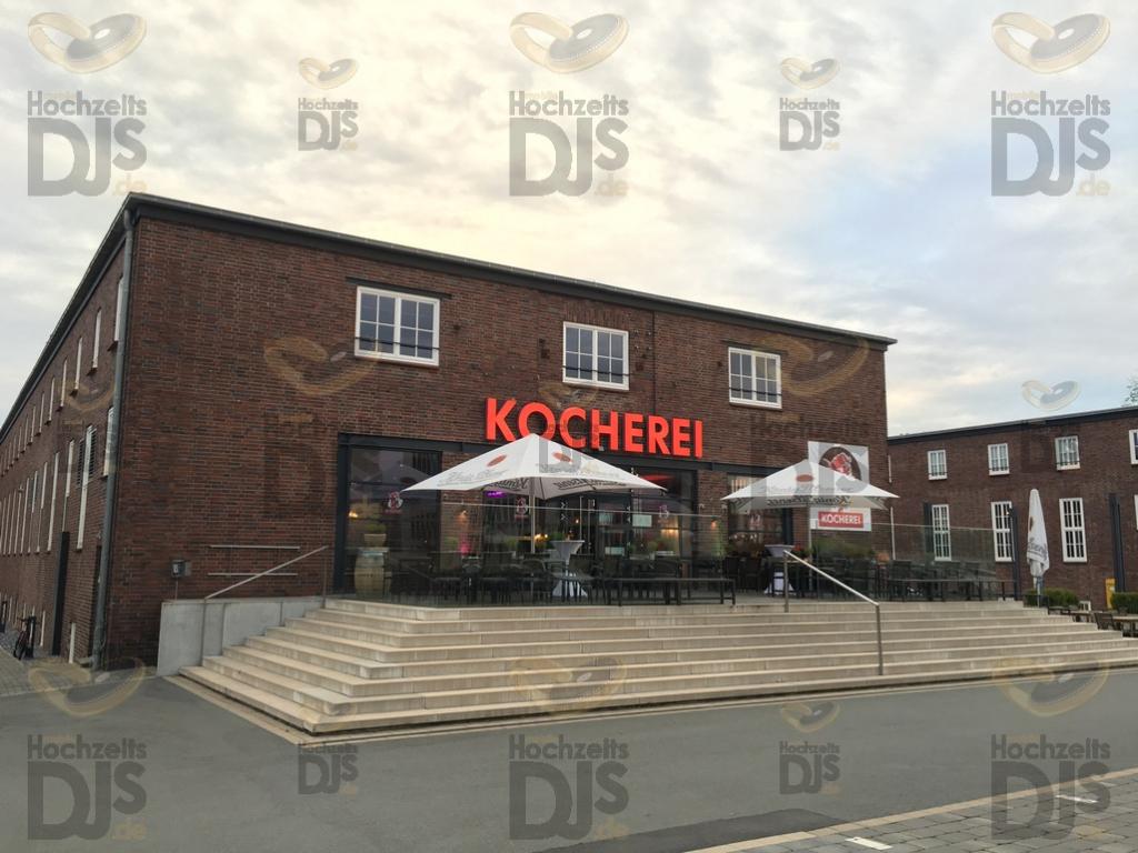 Terrasse der Kocherei Bielefeld