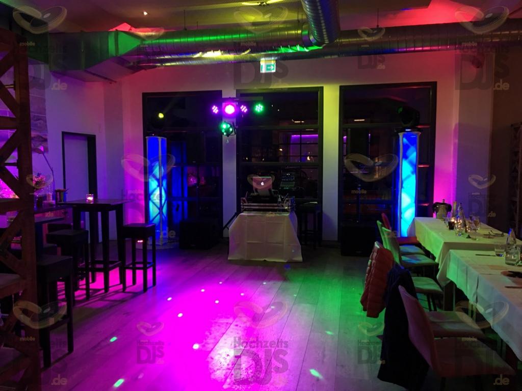 Partybeleuchtung in der Kocherei Bielefeld
