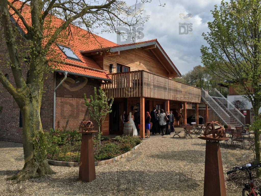 Eingan zum Landgut am Hochwald