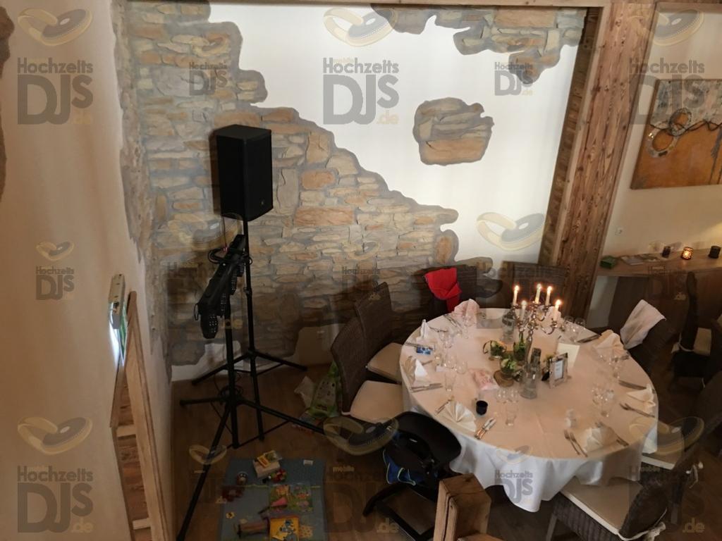 Hochzeitstisch im Landgut am Hochwald