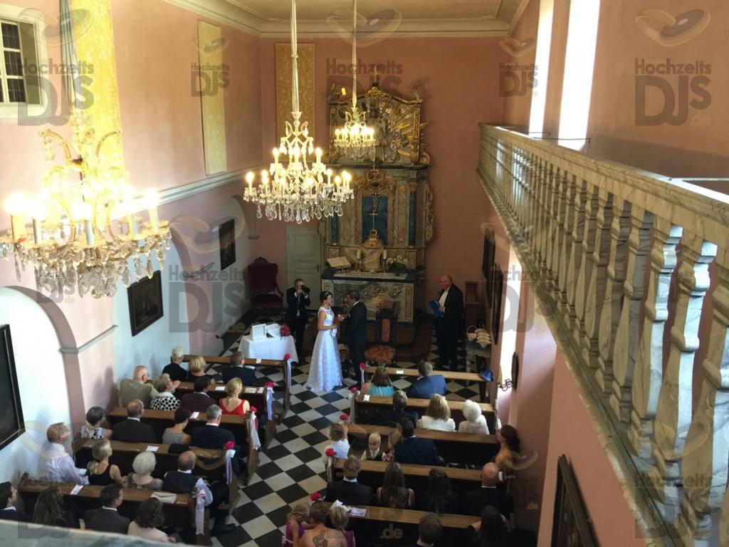 Trauung im Schloss Auel Lohmar