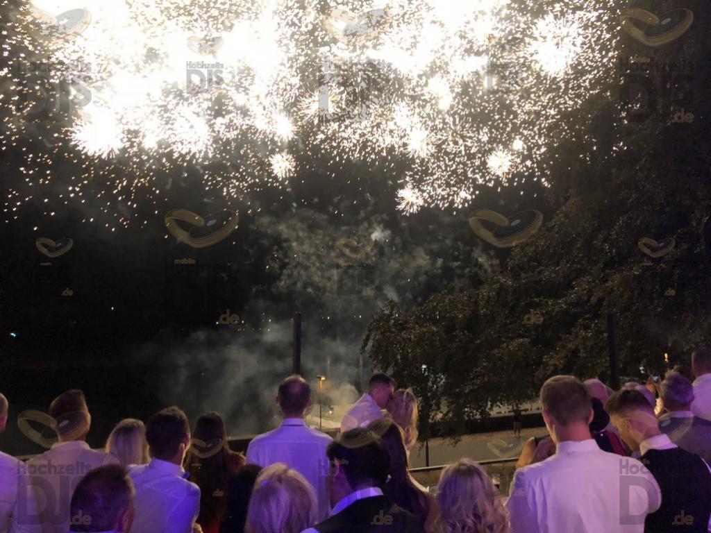 Feuerwerk im Chopelin Krefeld