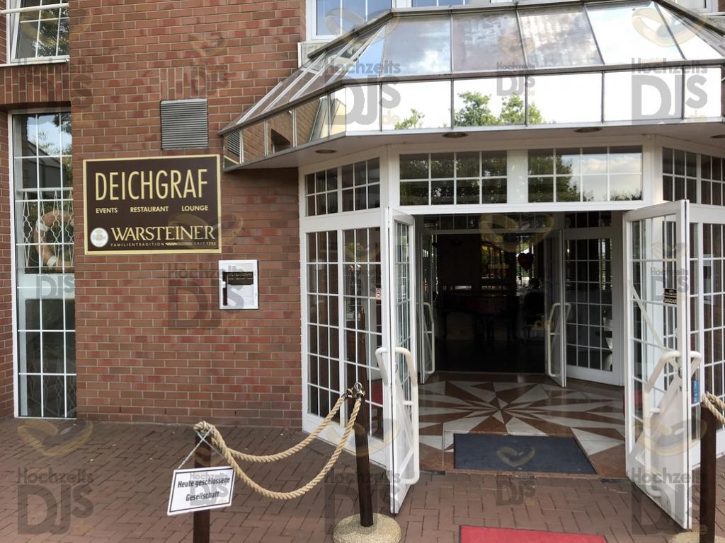 Eingang zum Haus Deichgraf