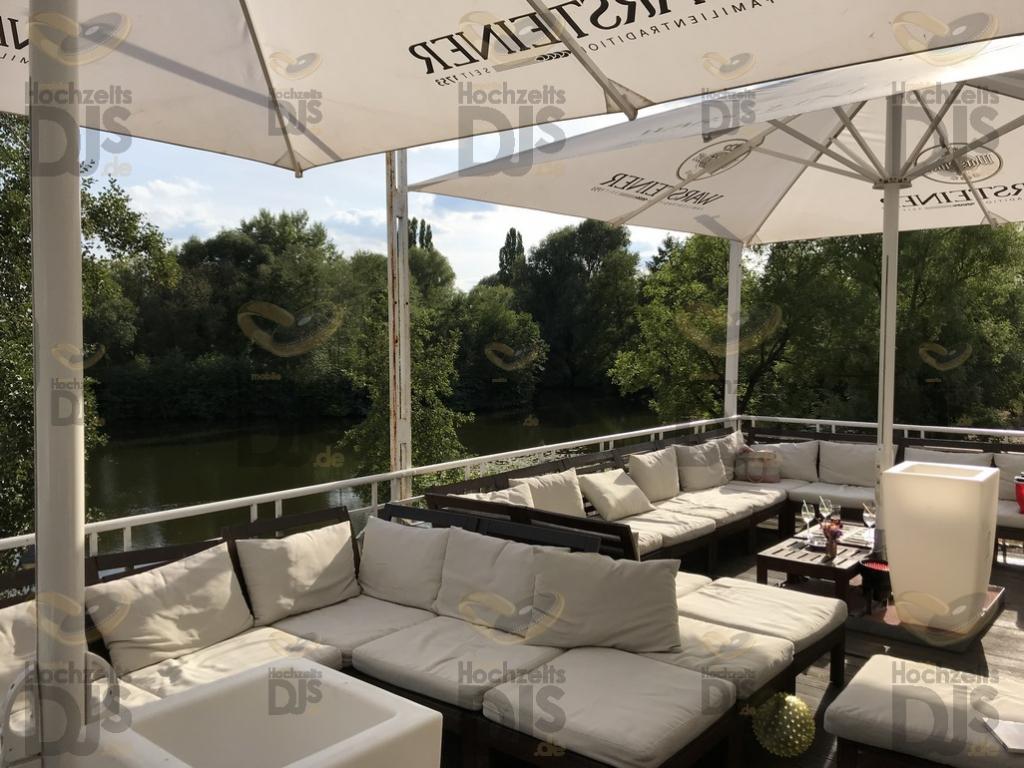 Lounge im Haus Deichgraf