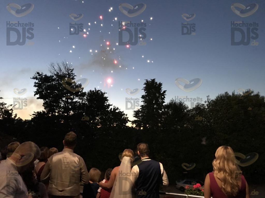 Feuerwerk im Landhaus Grum