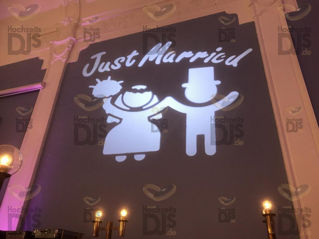Hochzeitsgobo in der Neue Schulenburg Hattingen