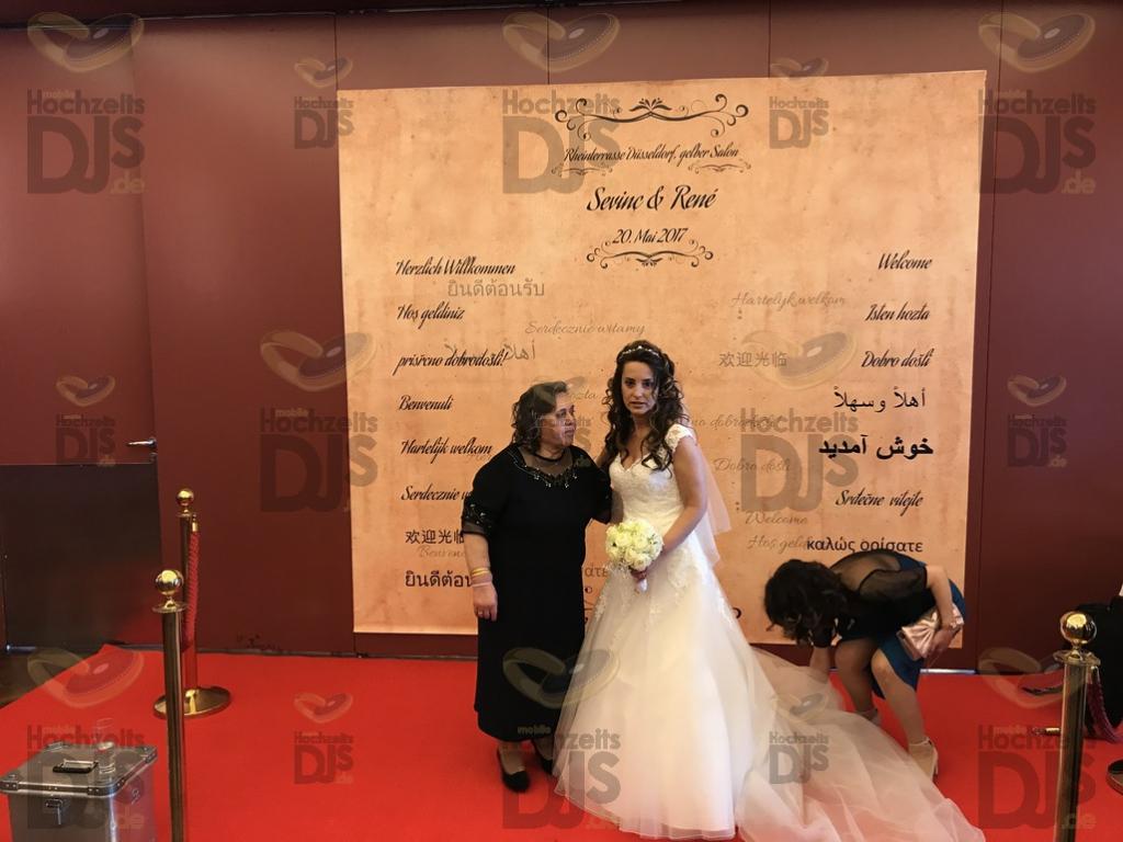 Braut in den Rheinterrassen Düsseldorf