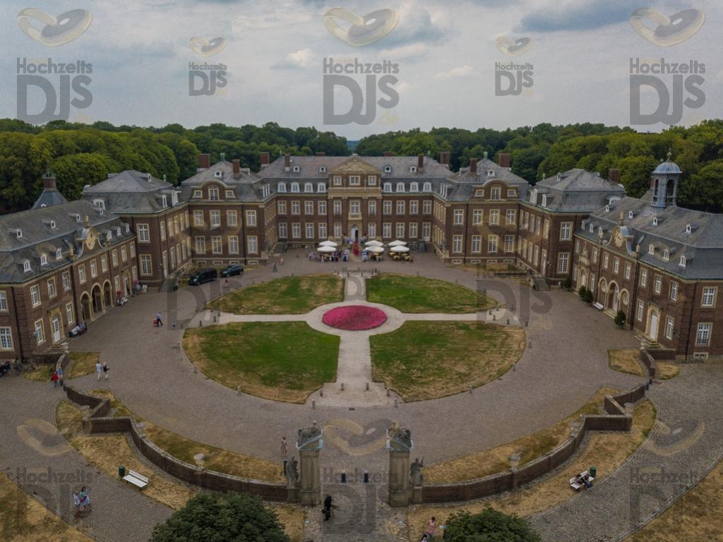 Drohne im Schloss Nordkirchen