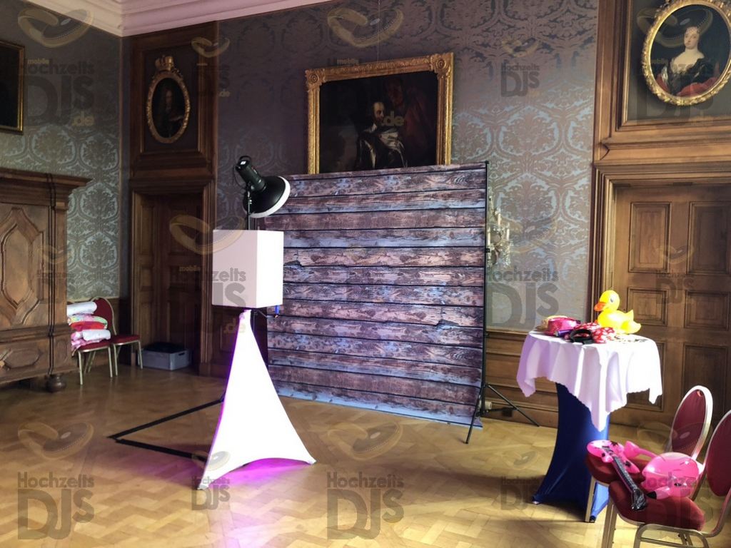 Photobooth im Schloss Nordkirchen