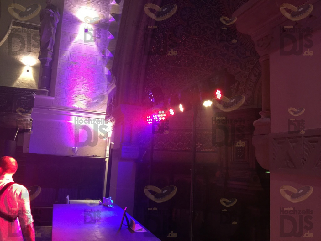 Eventkirche Velbert Langenberg LED Washlights