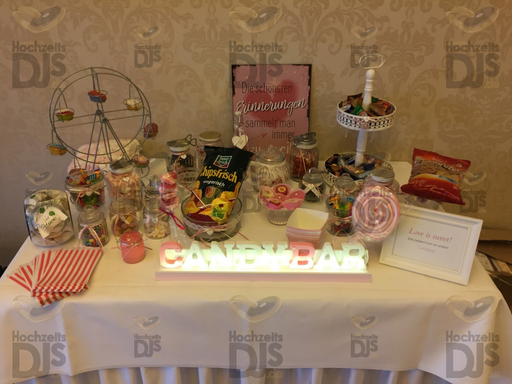 Candy Bar im Wellings Parkhotel Kamp-Lintfort