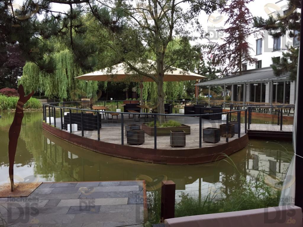 Garten im Wellings Parkhotel Kamp-Lintfort