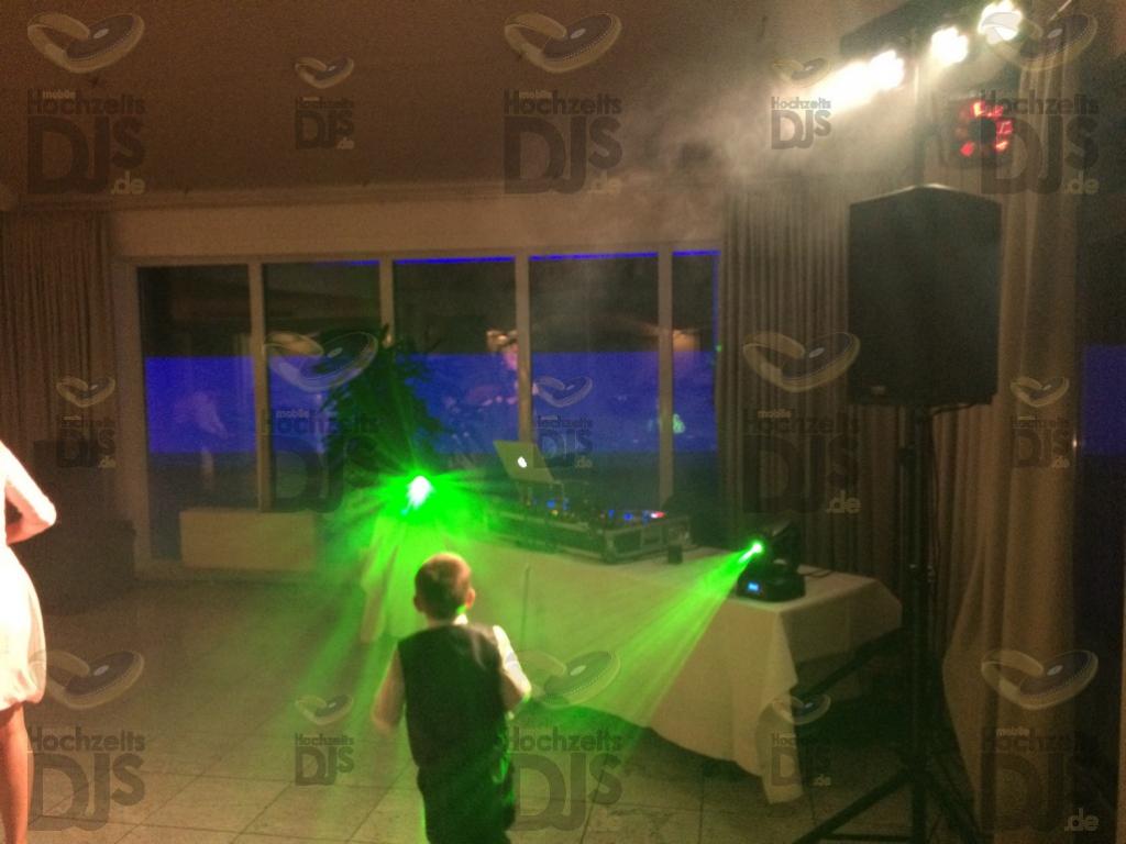 DJ Paket Elegance mit Movingheads im Hotel am Wald Monheim