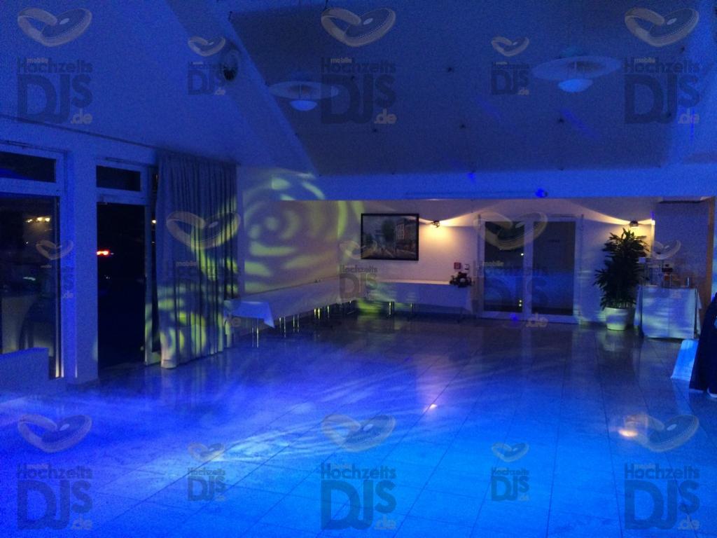Tanzfläche im Hotel am Wald Monheim