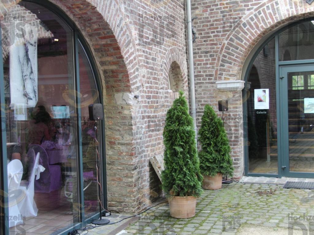 Eingang im Schloss Paffendorf Bergheim