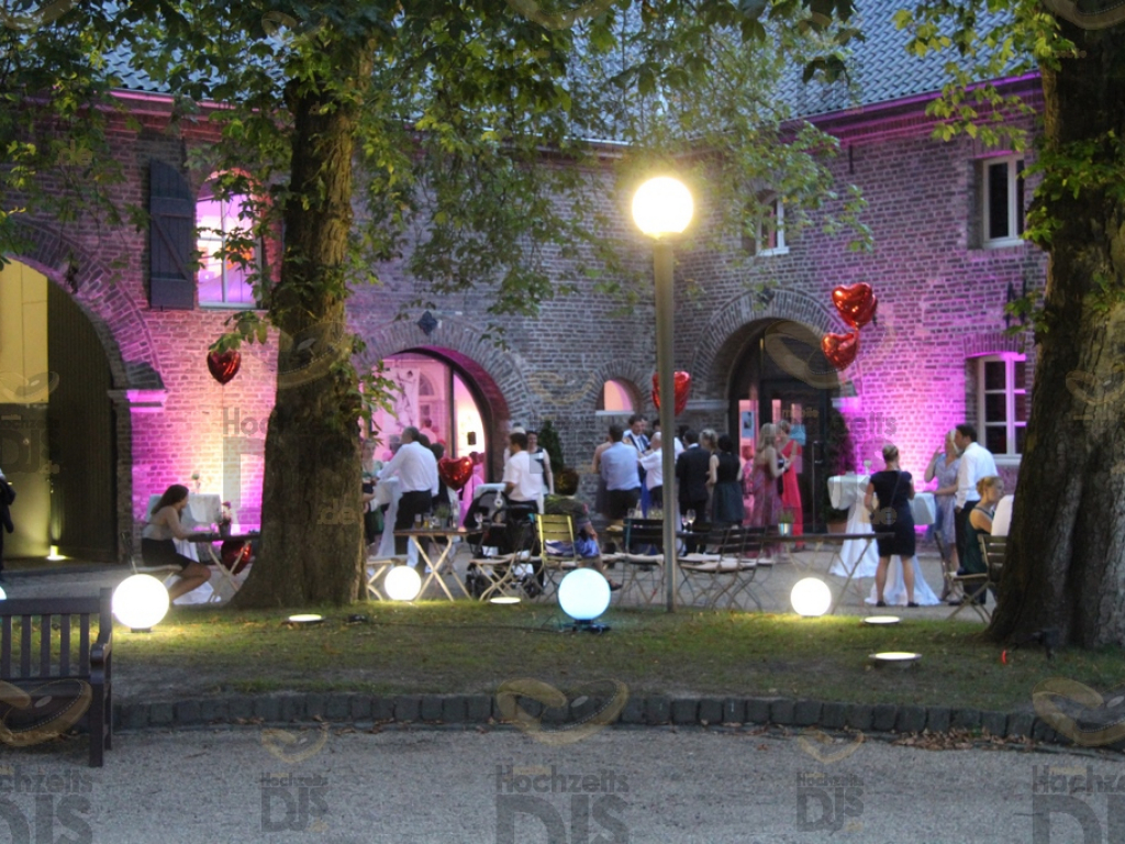 Innenhof im Schloss Paffendorf Bergheim