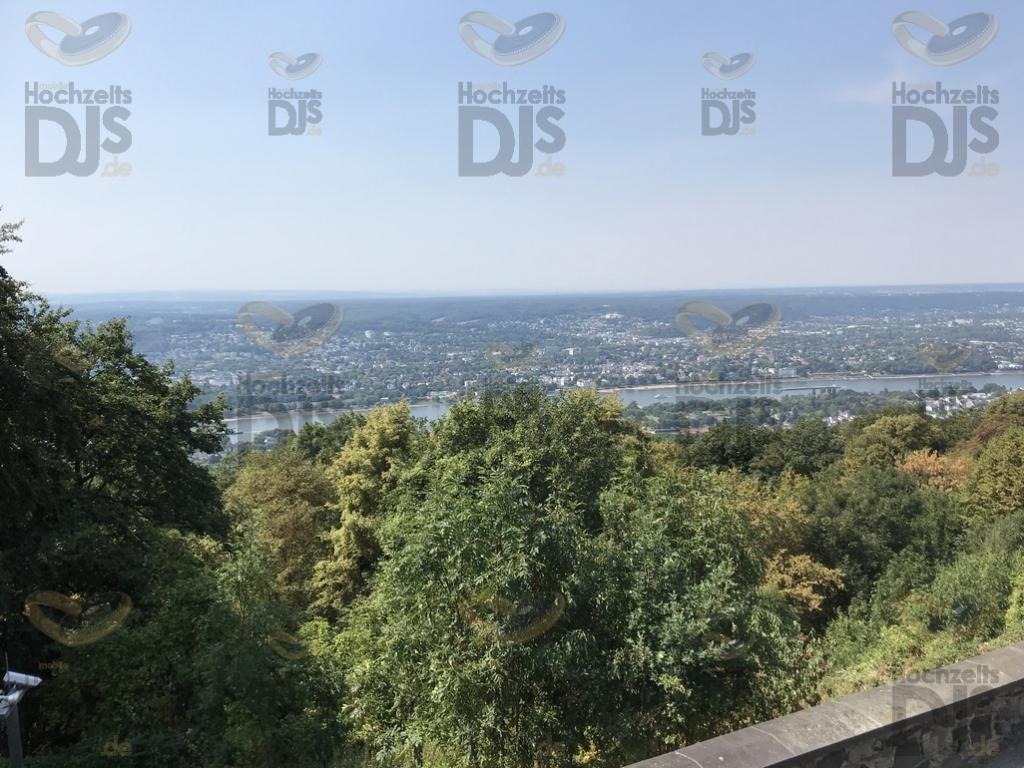 Aussicht im Steigenberger Petersberg Bonn Königswinter