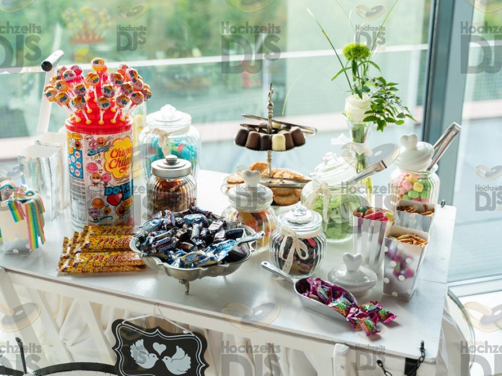 Candybar im Erich Brost Pavillon Essen