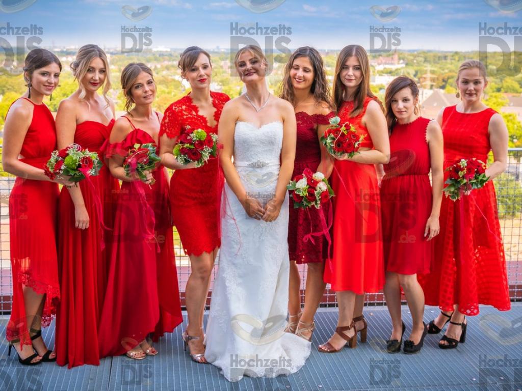 Braut im Erich Brost Pavillon Essen
